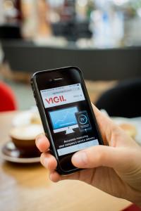 Vigil iPhone Display